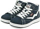 (エドウィン) EDWIN 子供靴 軽量 ハイカットスニーカー キッズ 女の子 男の子 ジュニア カジュアル EDW-3546 デニム 22cm