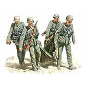 マスターボックス 1/35 独 負傷兵搬送5体スターリングラード1942