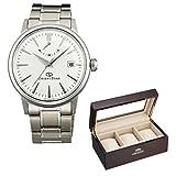 【セット】オリエントコレクションBOX付[オリエント]ORIENT 腕時計 ORIENT STAR オリエントスター クラシックパワーリザーブ 機械式 自動巻き(手巻き付き) ホワイト WZ0381EL メンズ