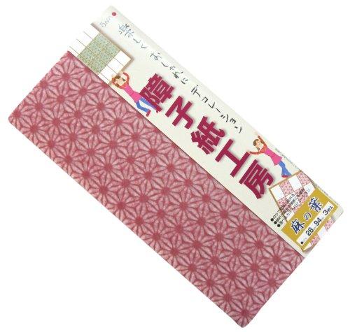 ONAO 障子紙工房 麻の葉 梅紫 28cm×94cm 3枚入