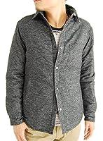(アーケード) ARCADE 8color メンズ 中綿ダウンジャケット ネルシャツ 長袖シャツ チェックシャツ