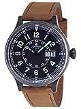 エアロマチック1912 腕時計 二戦 ドイツ 空軍 レトロ加工 復刻版 BIG-DATE A1254B [並行輸入品]