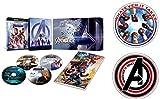 【Amazon.co.jp限定】アベンジャーズ/エンドゲーム 4K UHD MovieNEXプレミアムBOX [4K ULTRA HD+3D+ブルーレイ+デジタルコピー+MovieNEXワールド](オリジナルステッカーセット付き) [Blu-ray]