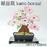 紙盆栽 kami-bonsai桜 -sakura-道具要らず、紙を組み立てて作る自分だけの盆栽