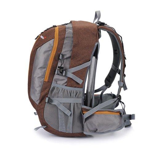 [トレクスタ]Treksta Stella 35L、登山リュックサック、バックパック、レインカバー贈呈 (ブラウン) [並行輸入品]
