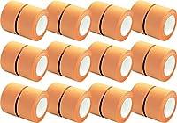 プリントインフォームジャパン gnotes ロールふせん ロルフ 巾25mmx10m巻 リフィル 24巻入 業務用 (オレンジ)