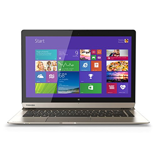 Toshiba P35W-B3226 Click 2 Pro 13.3 FHD Touch 2-In-1 Ultrabook Laptop Intel i7-4510U 8GB Memory 128GB Solid State Drive Satin Gold by Toshiba