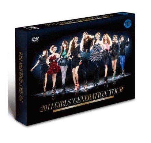 Kpop DVD, SNSD 2011 GIRLS' GENERATION TOUR DVD [Region Code : All] + PHOTOBOOK + FREE GIFT(Folded Poster + Softbay Mask Pack Sheet)