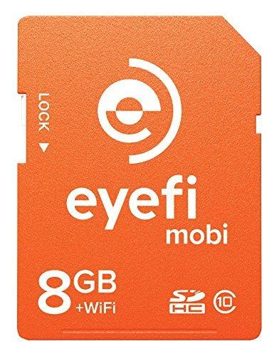 Eyefi Mobi 8GB SDHC Class 10 Wi-Fi Memory Card with 90-day Eyefi Cloud Service, Frustration Free Packaging (MOBI-8-FF) [並行輸入品]