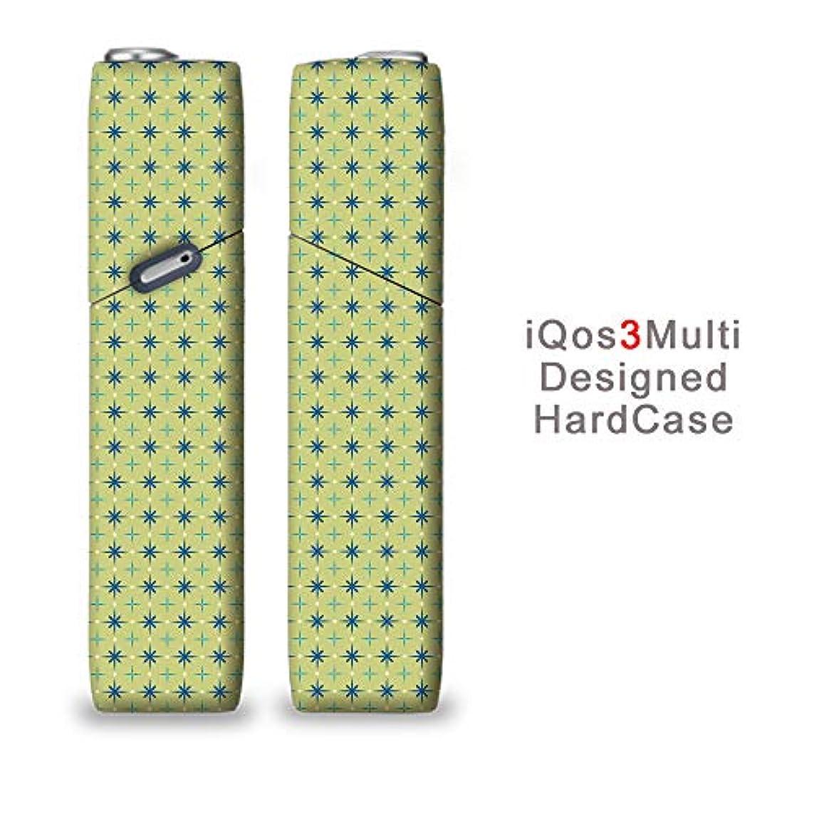 毛皮バルク取り扱い完全国内受注生産 iQOS3マルチ用 アイコス3マルチ用 熱転写全面印刷 かわいい花柄 加熱式タバコ 電子タバコ 禁煙サポート アクセサリー プラスティックケース ハードケース 日本製