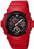 [カシオ]CASIO 腕時計 G-SHOCK ジーショック US Culture Series REDMAN 限定 コラボレーションモデル AW-591RED-4AJR メンズ