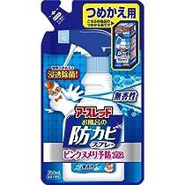 アース製薬 お風呂の防カビスプレー ピンクヌメリ予防プラス 無香性 つめかえ 350mL