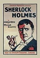 Buyenlarge 05521-9P2030シャーロック·ホームズ - ライシャムシアター、ロンドン20x30ポスター