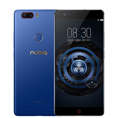 Nubia Z17 Lite グローバル (日本語対応) 6GB+64GB 5.5 インチ simフリースマートフォン本体 Snapdragon 653 オクタコア Android 7.1搭載 指紋認証 16MP+13MPデュアルリアカメラ 4G LET携帯電話 3200mAh 高速充電 電力モード