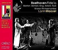 Beethoven:Fidelio [Tom Krause; Theo Adam; James King; Eva Marton; Wiener Philharmoniker, Lorin Maazel] [ORFEO: C908152I] by Tom Krause