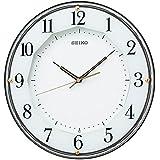 (セイコークロック) SEIKO CLOCK スタンダード 電波 壁掛け時計 KX213B 連続秒針 茶色 アナログ