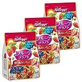 【Amazon.co.jp限定】 ケロッグ フルーツグラノラ 朝摘みいちご 大容量 850gx3個セット