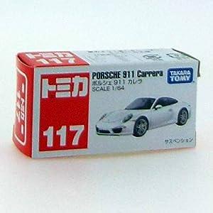 トミカ No.117 ポルシェ 911 カレラ (箱)
