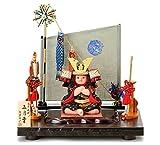 五月人形 真多呂 武者人形 木目込人形飾り 真多呂作 古今人形 五月童 h295-mtk-3553-038