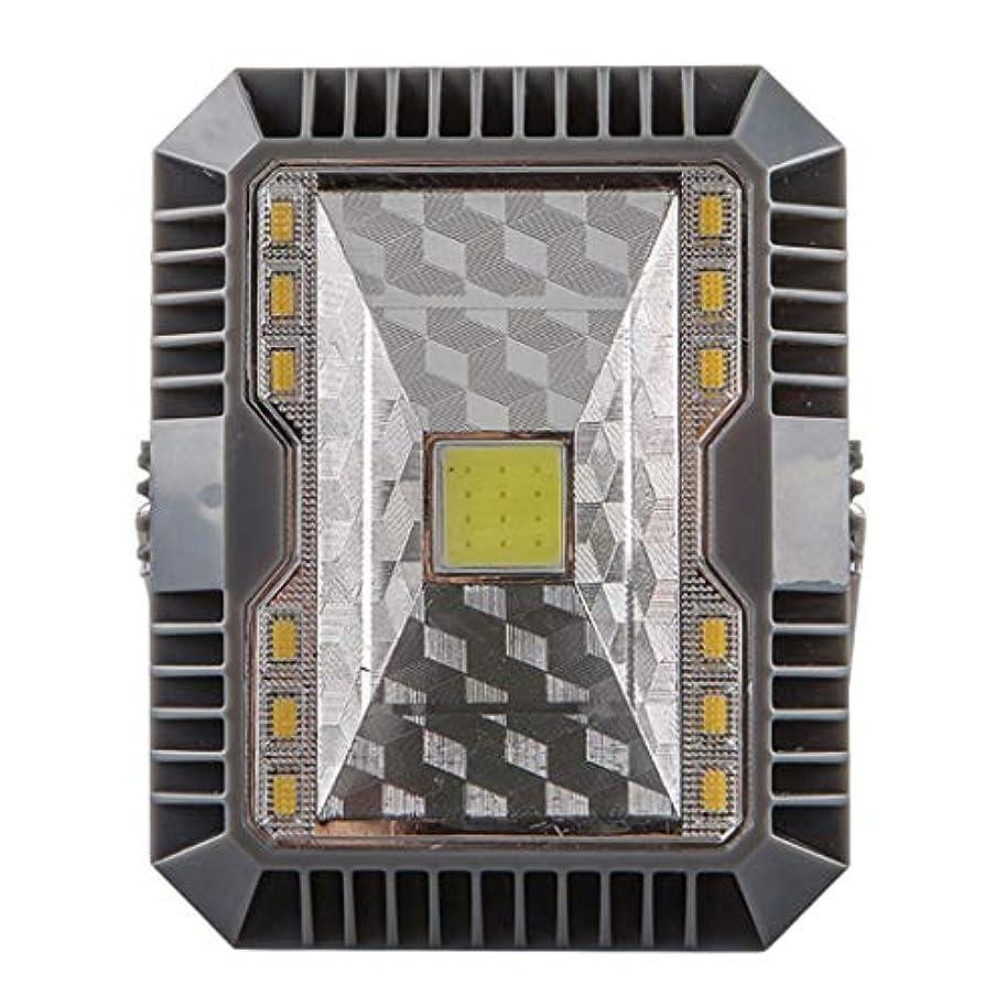 農民パパ部MODAO IP65 LEDキャンピングランタンライト 充電式バッテリー (ソーラーパネルとUSB充電) ソーラー屋外 ハイキング キャンプ 庭 防水 LEDランプ 緊急ライト