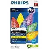 Philips C9 マルチファセット 屋内/屋外 LED クリスマスストリングライト A4 6色