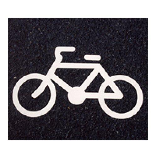 アトムハウスペイント フロアサイン 自転車マーク 幅62cm×高さ35cm