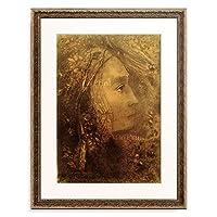 オディロン・ルドン Odilon Redon 「Le Printemps (Der Fruhling), 1883. 」 額装アート作品