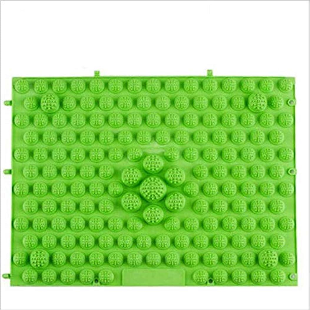スチュアート島キャンベラ郵便ウォークマット 裏板セット(ABS樹脂製補強板付き) (グリーン)