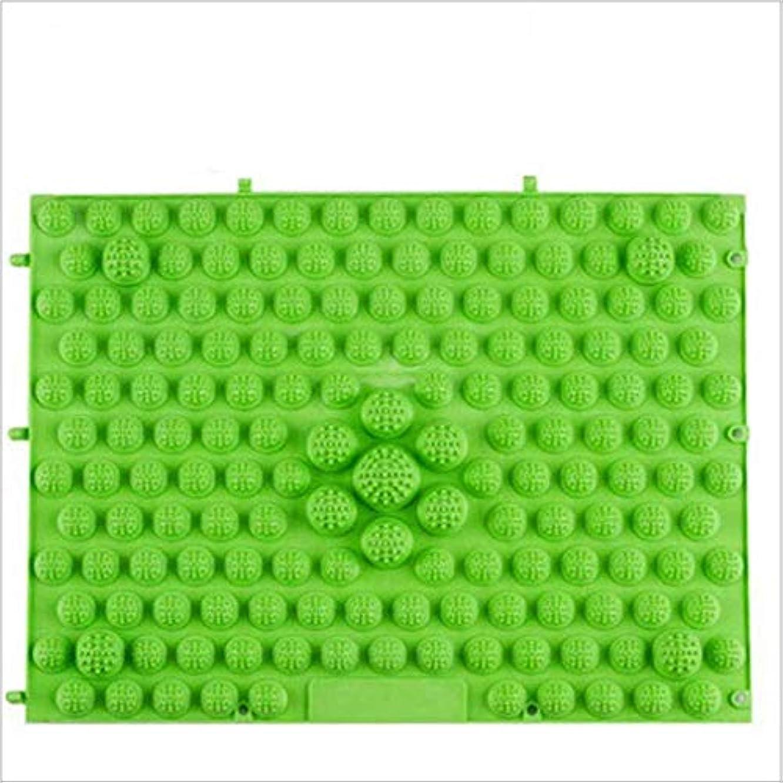 比類のないケイ素処分したウォークマット 裏板セット(ABS樹脂製補強板付き) (グリーン)