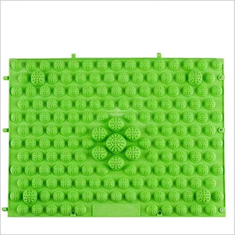 隙間かどうか大理石ウォークマット 裏板セット(ABS樹脂製補強板付き) (グリーン)