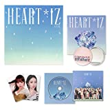 IZONE 2nd Mini Album - HEART*IZ [ Sapphire ver. ] CD + Mini Photobook + Booklet + Photocards + Pop-up Card + OFFICIAL POSTER + FREE GIFT
