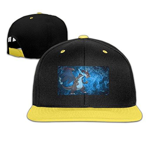 Pokemon Go CharizardカスタムGirl Boy幼児用Hiphop帽子コットンキュート