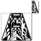 cronos iPhoneX ベルトレス マルチ手帳型スマホカバー ケース ミュージシャン ギター フライングVマイケルシェンカーMSG DEAN michael schenker roc0001 日本製