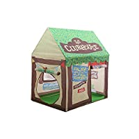 TLMY 子供のテントは、屋内の小さなテントの人形の家を再生する テント (色 : Green)
