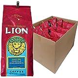 (ライオンコーヒー) バニラ マカダミアナッツ 680g×10パック (粉)