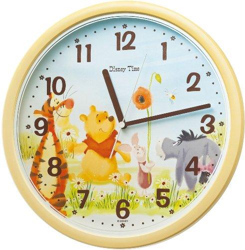 ディズニータイム くまのプーさん 掛け時計 FW570Y