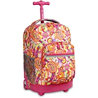 J World New York Sunrise, Pink Paisley (Pink) - RBS-18 Pink Paisley