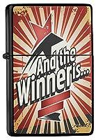 Pocket Windproof lighter ライター Brushed Oil Refillable Winner