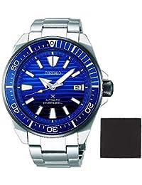 【セット商品】[セイコー]セイコー SEIKO プロスペックス PROSPEX スペシャルエディションモデル 日本製 サムライ 自動巻き ブルーグラデーション 腕時計 SRPC93J1&マイクロファイバークロス 13×13cm付き [逆輸入品]