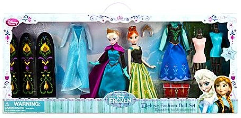 ディズニーフローズン 「アナと雪の女王」 アナ&エルサ デラックスファッションドール ギフトセット  並行輸入品
