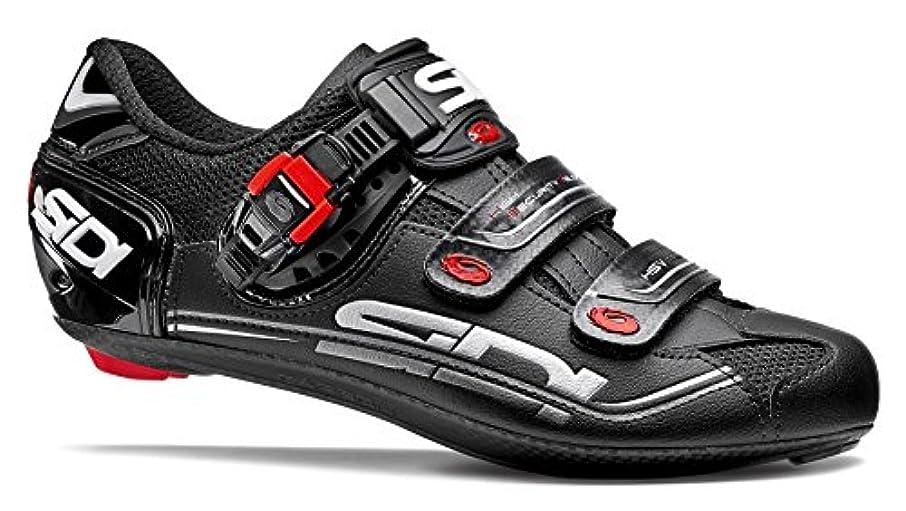 志す南アクセスできない[Sidi] Genius 7 Road靴 US サイズ: 42.5 M EU カラー: ブラック