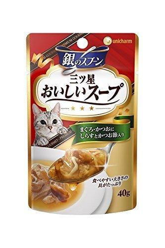 銀のスプーン 三ツ星グルメパウチ スープ まぐろ かつおにしらすとかつお節入り 40g