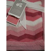 Baby Girl Soft Multi-coloured Blanket Pink and White