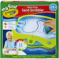 My First Crayola Mess-Free Sand Scribbler, Art Activity, No Mess, Perfect Gift for Preschoolers [並行輸入品]