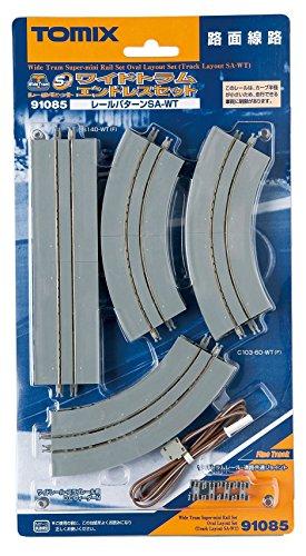 TOMIX Nゲージ 91085 ワイドトラムスーパーミニレールセットエンドレスセット (SA-WTパターン)