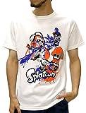 (スプラトゥーン) Splatoon Tシャツ メンズ ブランド 半袖 ロゴ キャラクター プリント 8color M 柄7