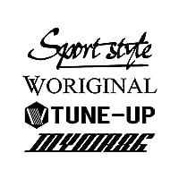Sport style mix トヨタ86 カッティング ステッカー ブラック 黒
