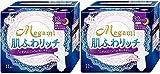 【まとめ買い】エリス Megami 肌ふわリッチ 特に多い日の夜用 羽つき 11枚入×2個パック