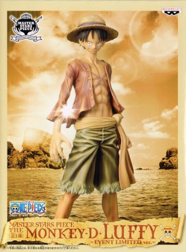 MASTER STARS PIECE THE MONKEY・D・LUFFY -EVENT LIMITED Ver.- モンキー・D・ルフィ バン博限定Ver.