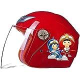 DFG/C-6激安子供用ヘルメット 半帽 半キャップ 頑丈 軽量 原付全7色 可愛い キッズ 安全 軽量 アウトドア 男の子 女の子 ジェット リングヘルメット フリーサイズ